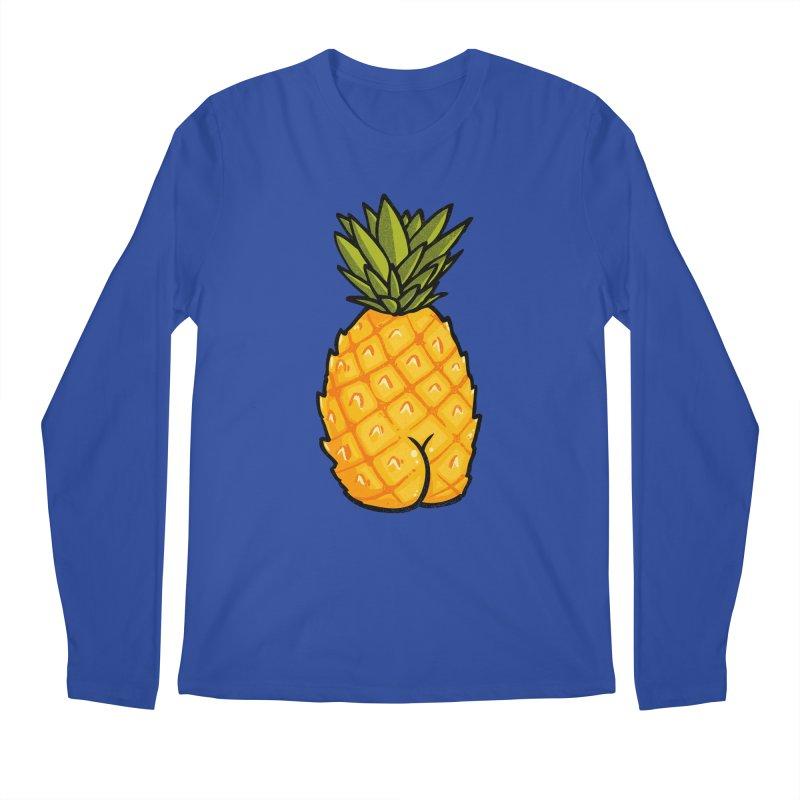 Pineapple BUTT Men's Longsleeve T-Shirt by Brian Cook