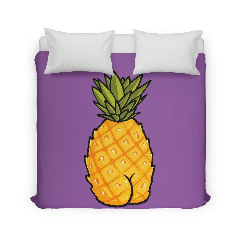 Pineapple BUTT Home Duvet by Brian Cook