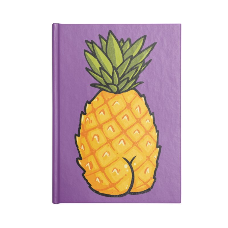Pineapple BUTT Accessories Notebook by Brian Cook