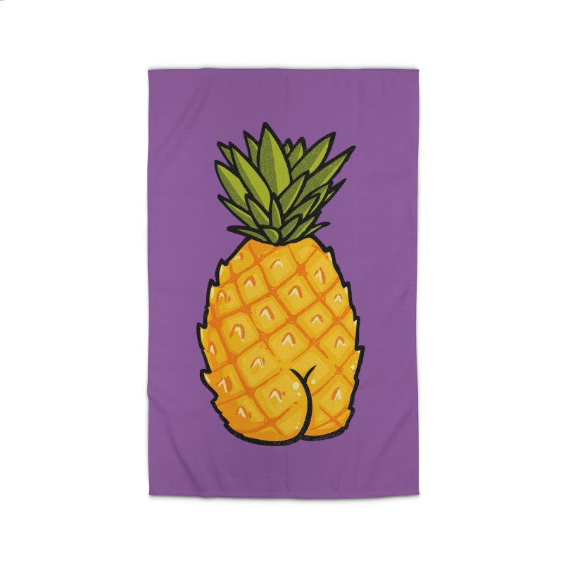 Pineapple BUTT Home Rug by Brian Cook