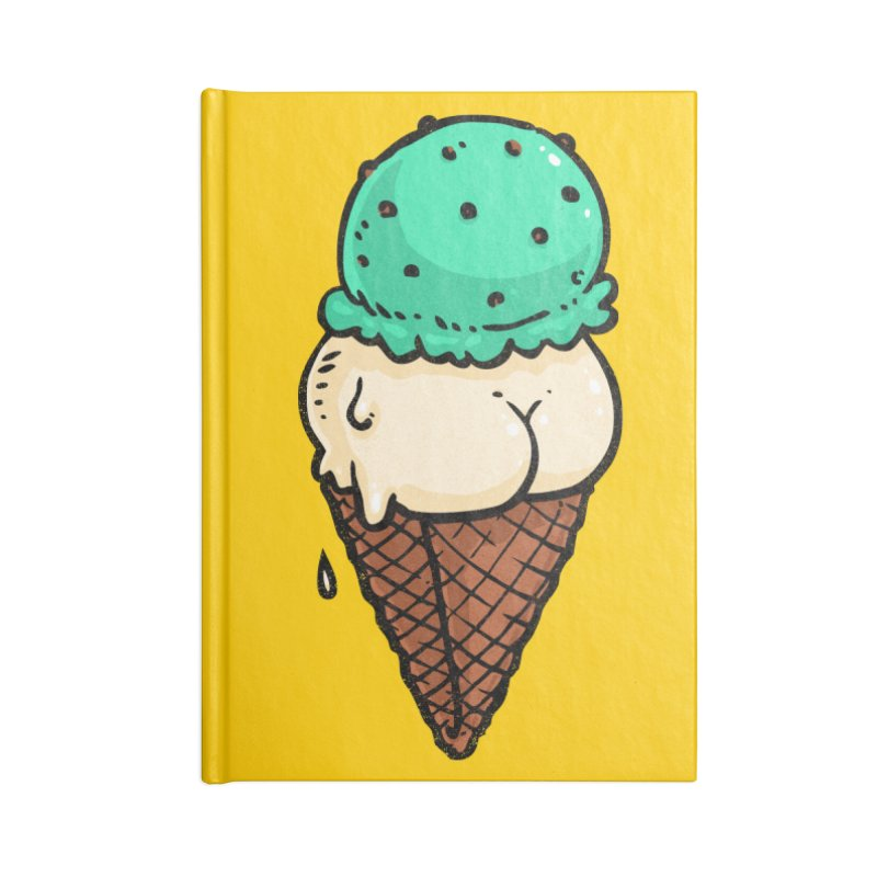 Ice Cream BUTT Accessories Notebook by Brian Cook