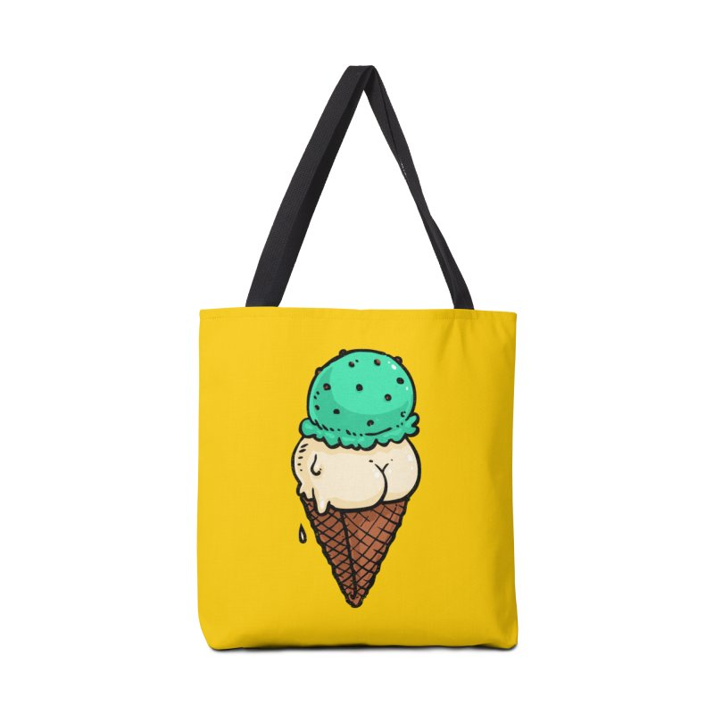 Ice Cream BUTT Accessories Bag by Brian Cook