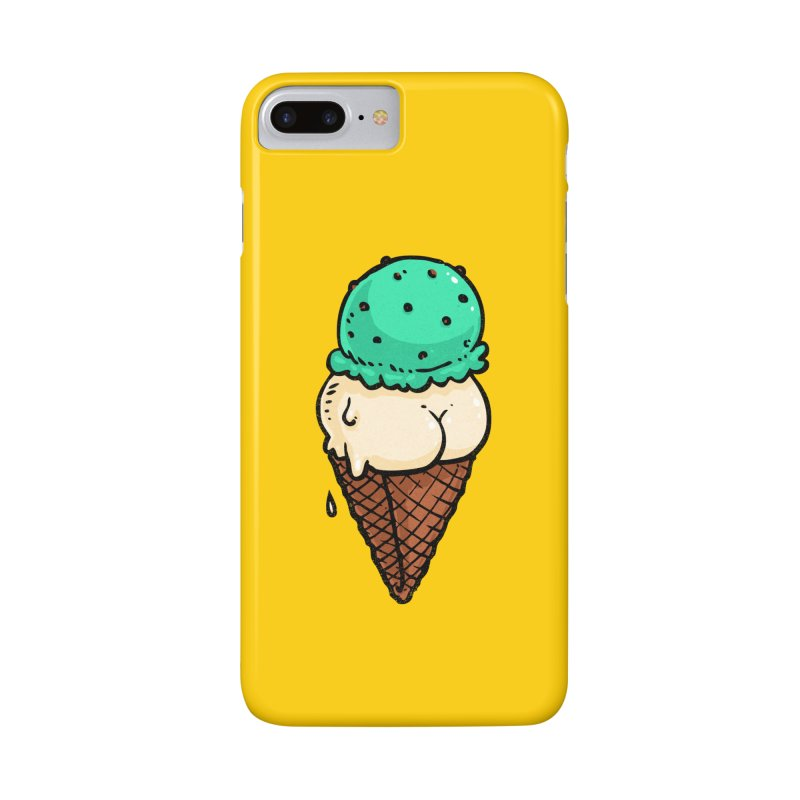 Ice Cream BUTT Accessories Phone Case by Brian Cook
