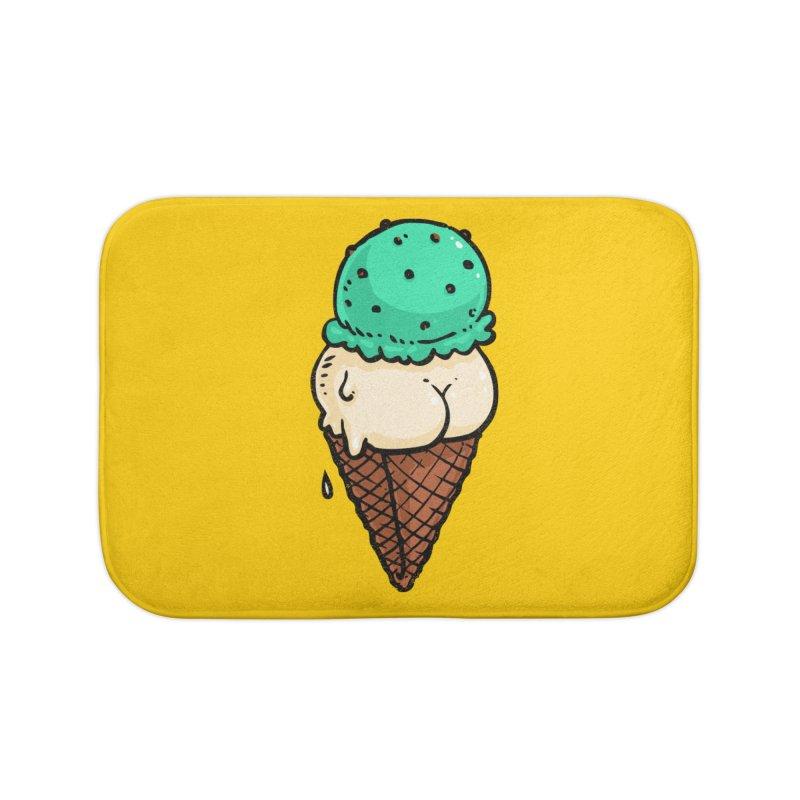 Ice Cream BUTT Home Bath Mat by Brian Cook