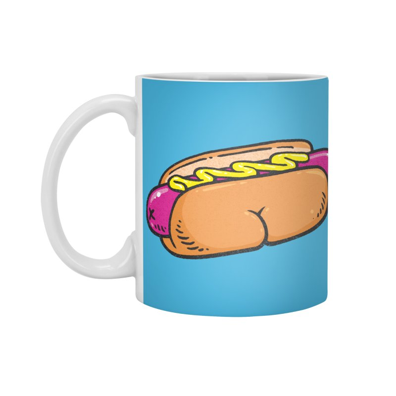 Hot Dog BUNS Accessories Mug by Brian Cook