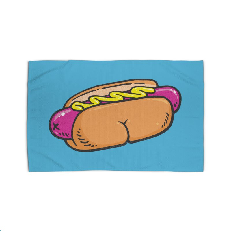 Hot Dog BUNS Home Rug by Brian Cook
