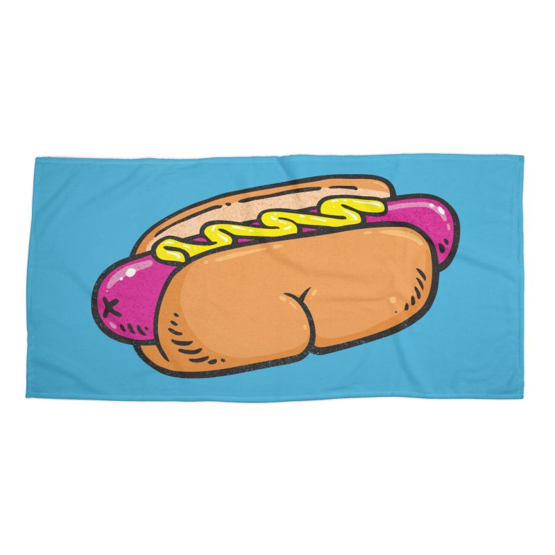 Hot Dog BUNS Accessories Beach Towel by Brian Cook