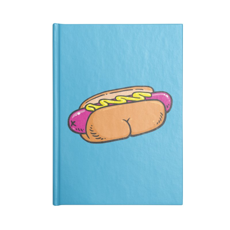 Hot Dog BUNS Accessories Notebook by Brian Cook