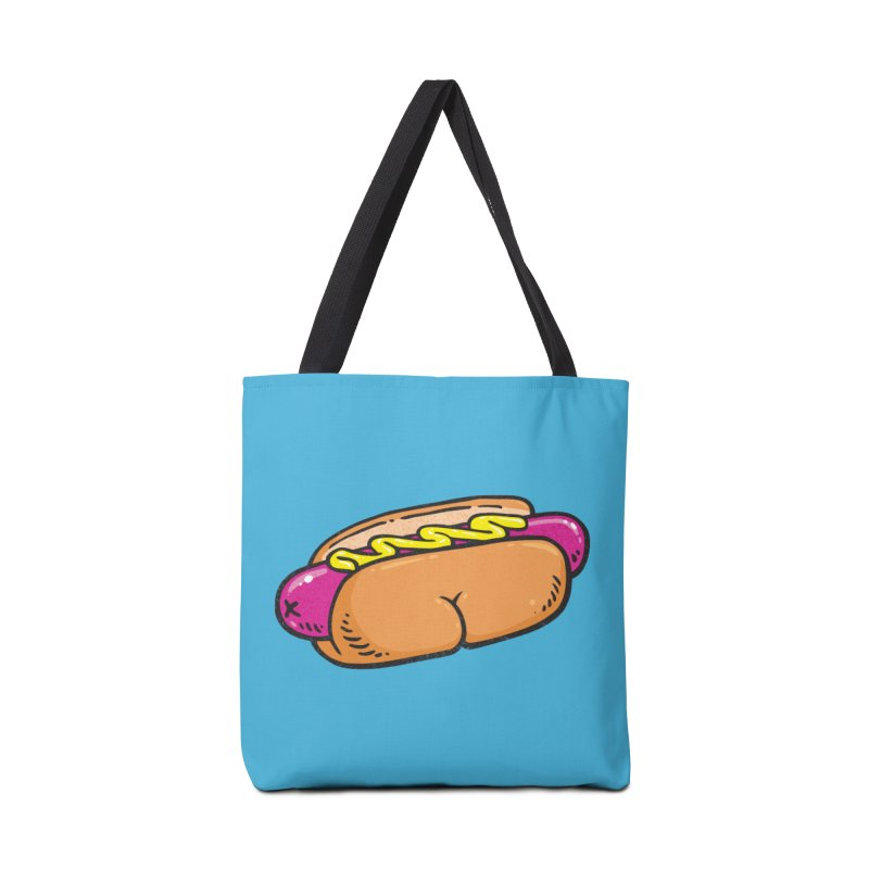 Hot Dog BUNS Accessories Bag by Brian Cook