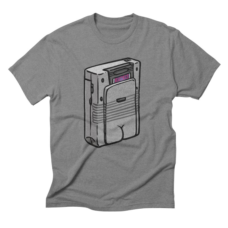 Gamebutt Men's Triblend T-Shirt by Brian Cook