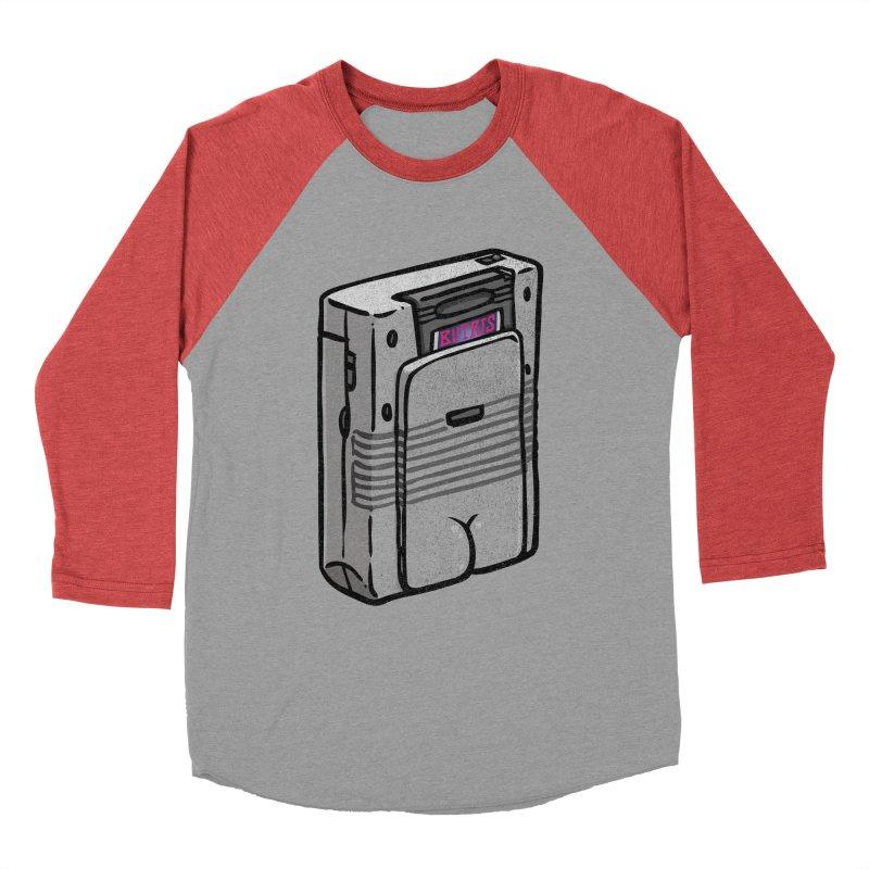 Gamebutt Men's Baseball Triblend T-Shirt by Brian Cook