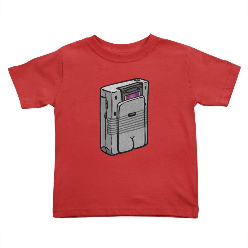 Gamebutt Kids Toddler T-Shirt by Brian Cook