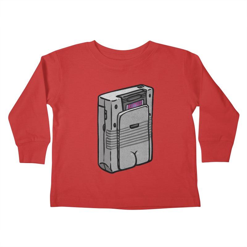 Gamebutt Kids Toddler Longsleeve T-Shirt by Brian Cook