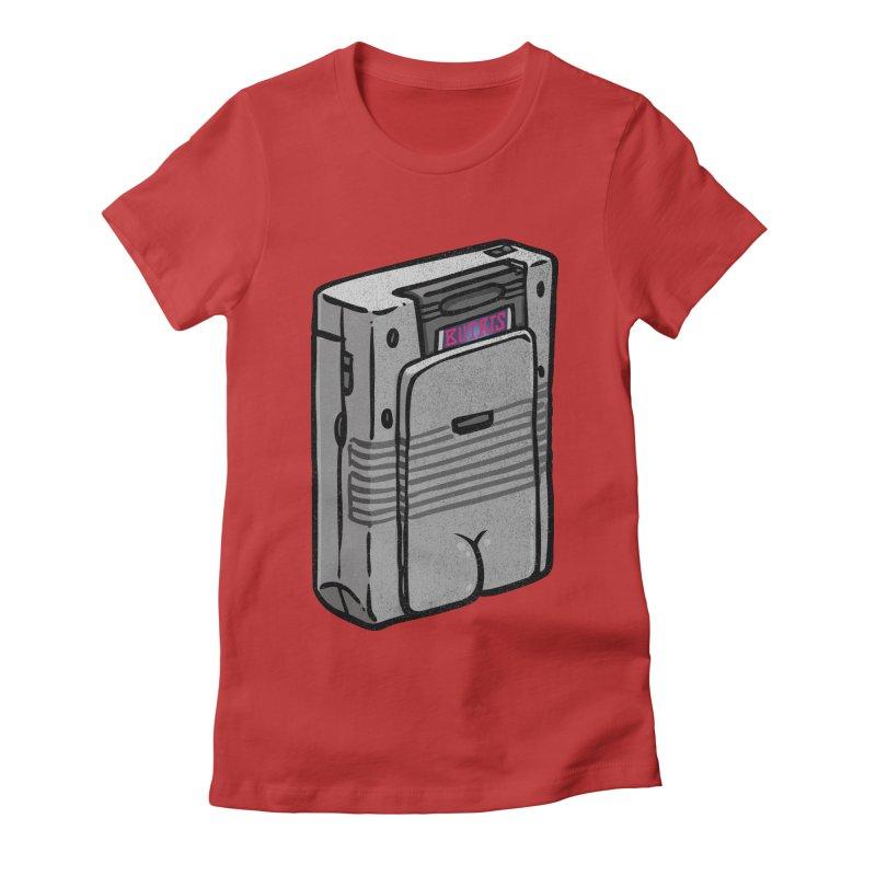 Gamebutt Women's Fitted T-Shirt by Brian Cook