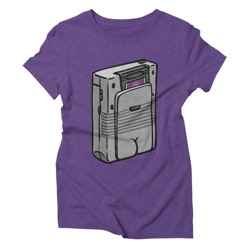 Gamebutt Women's Triblend T-Shirt by Brian Cook