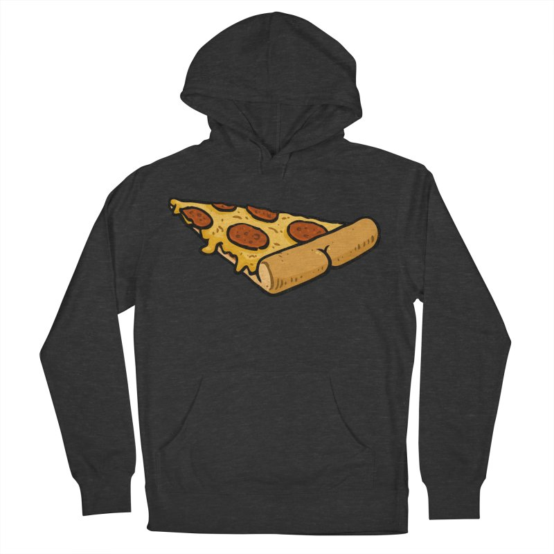 Pizza BUTT Women's Pullover Hoody by Brian Cook