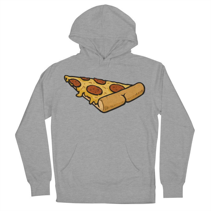 Pizza BUTT Men's Pullover Hoody by Brian Cook