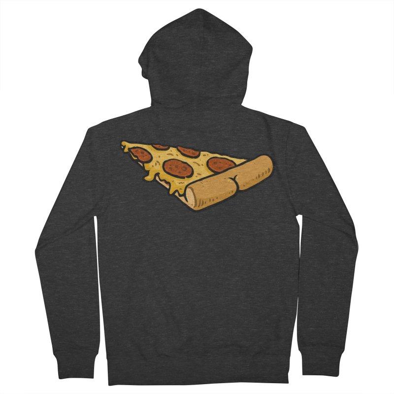 Pizza BUTT Women's Zip-Up Hoody by Brian Cook