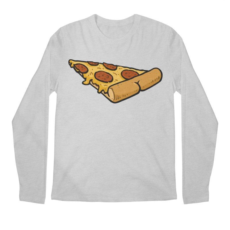Pizza BUTT Men's Longsleeve T-Shirt by Brian Cook