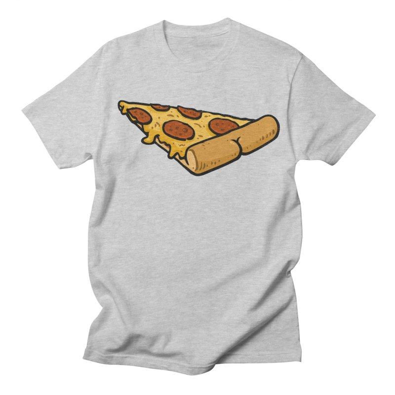 Pizza BUTT Women's Unisex T-Shirt by Brian Cook