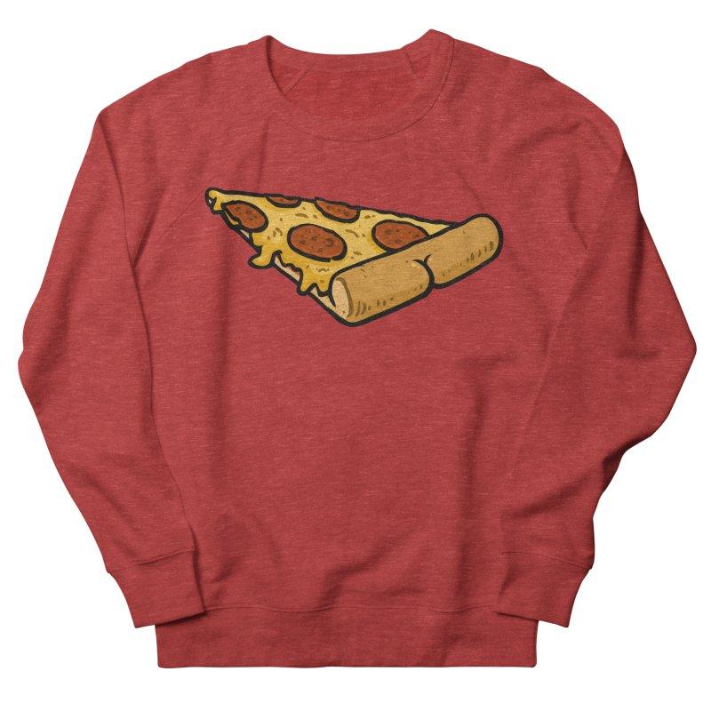 Pizza BUTT Men's Sweatshirt by Brian Cook