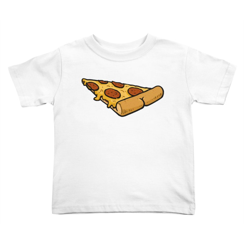 Pizza BUTT Kids Toddler T-Shirt by Brian Cook