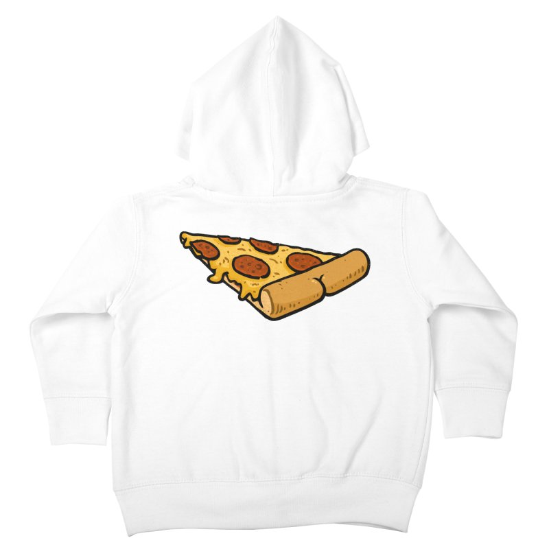 Pizza BUTT Kids Toddler Zip-Up Hoody by Brian Cook