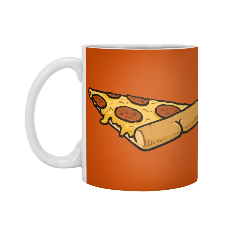 Pizza BUTT Accessories Mug by Brian Cook