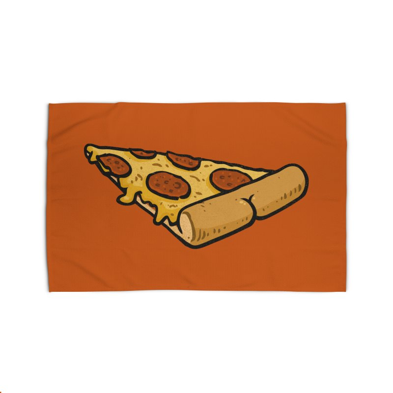 Pizza BUTT Home Rug by Brian Cook
