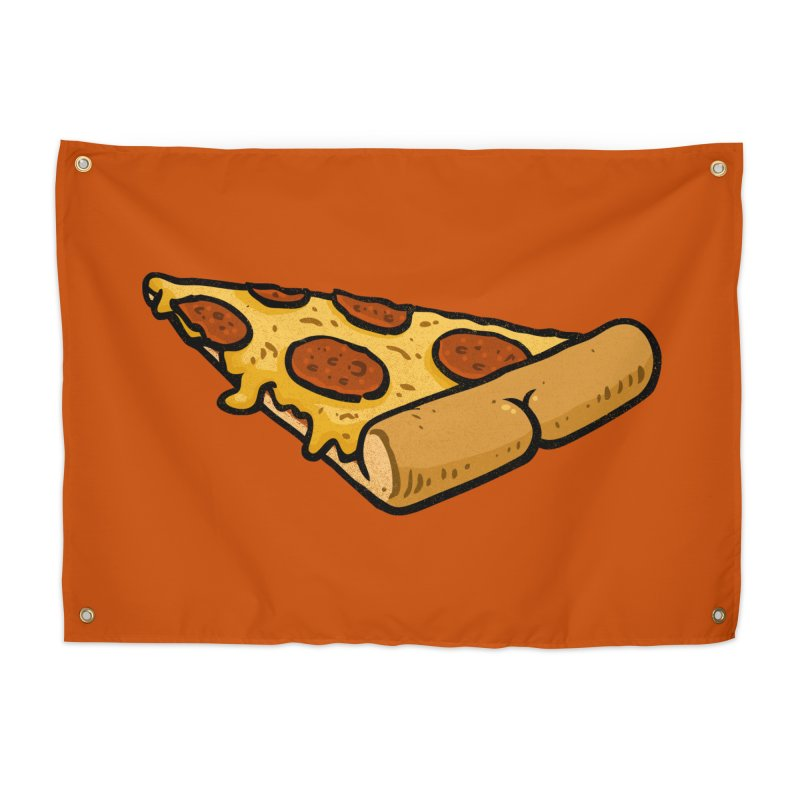 Pizza BUTT Home Tapestry by Brian Cook