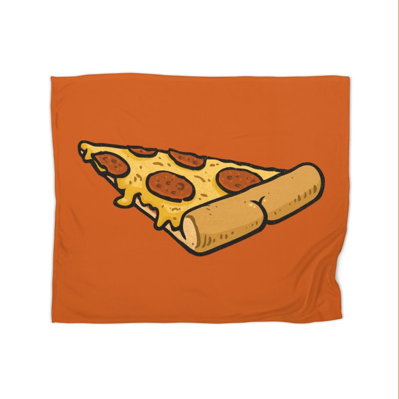 Pizza BUTT Home Blanket by Brian Cook