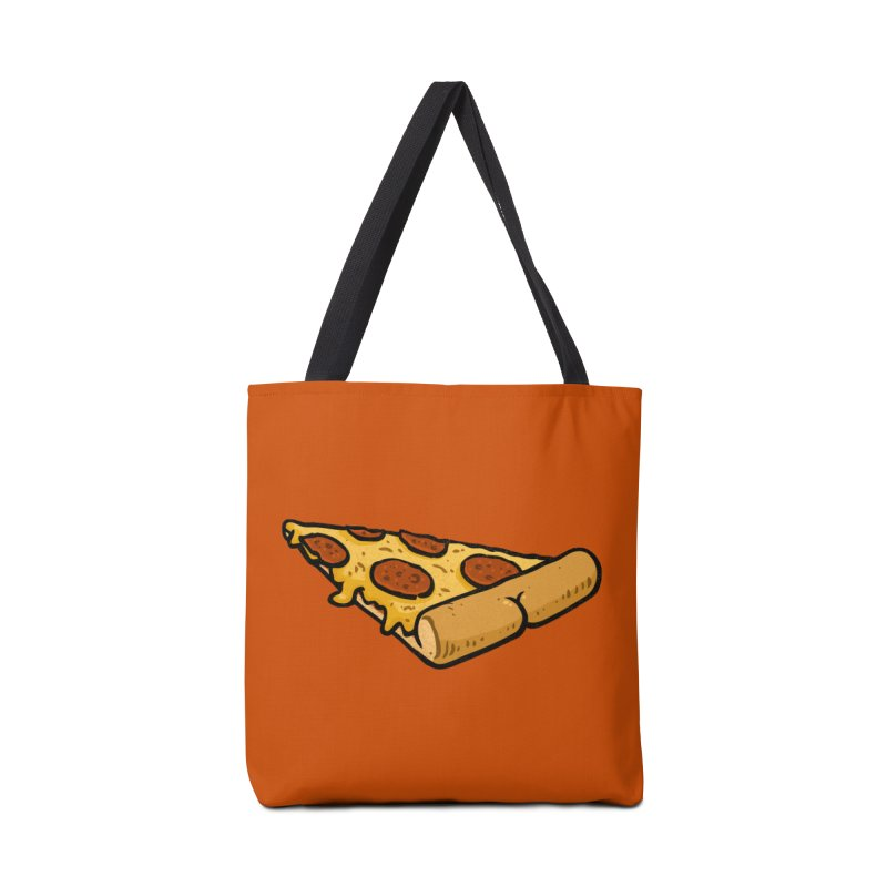 Pizza BUTT Accessories Bag by Brian Cook