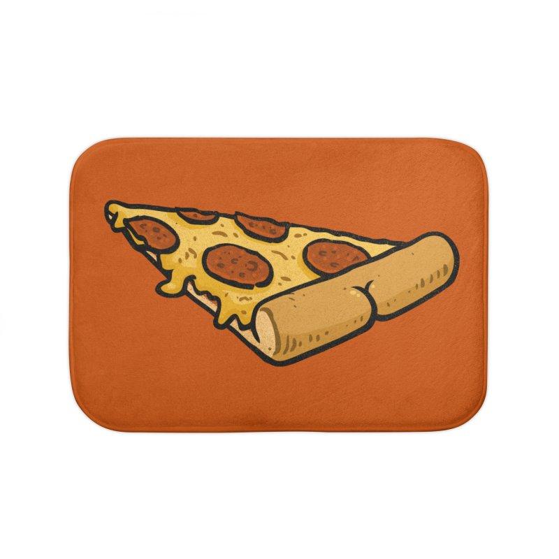 Pizza BUTT Home Bath Mat by Brian Cook
