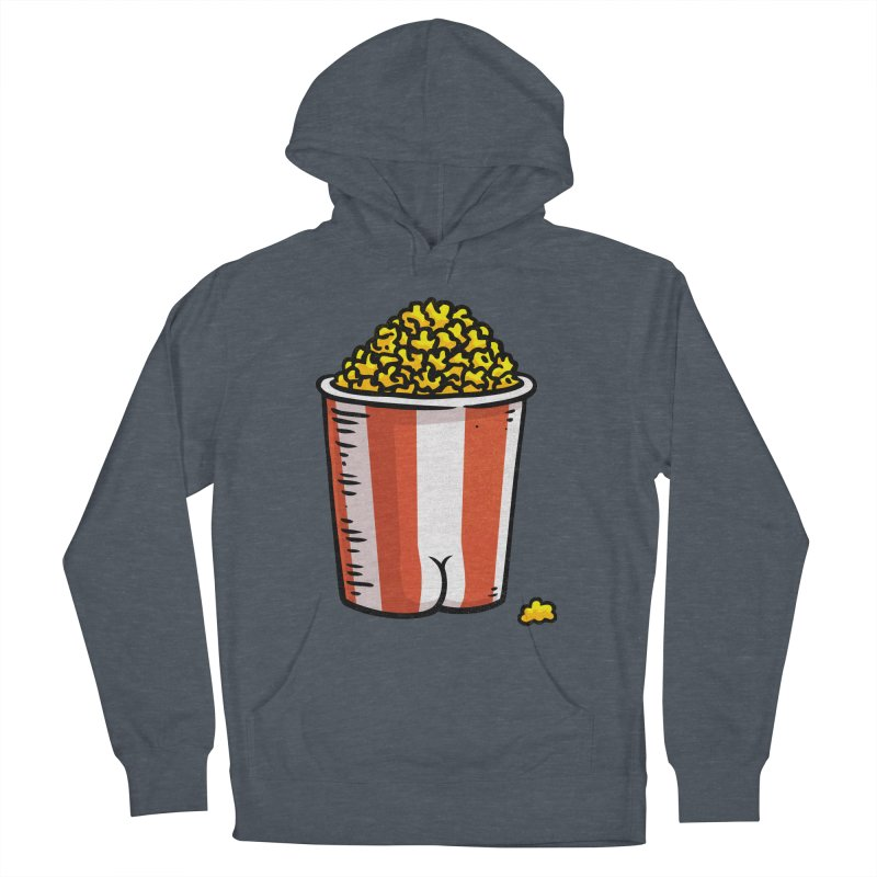 Popcorn BUTT Men's Pullover Hoody by Brian Cook