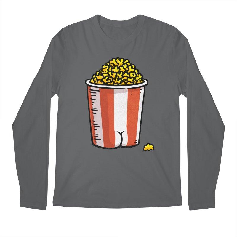 Popcorn BUTT Men's Longsleeve T-Shirt by Brian Cook