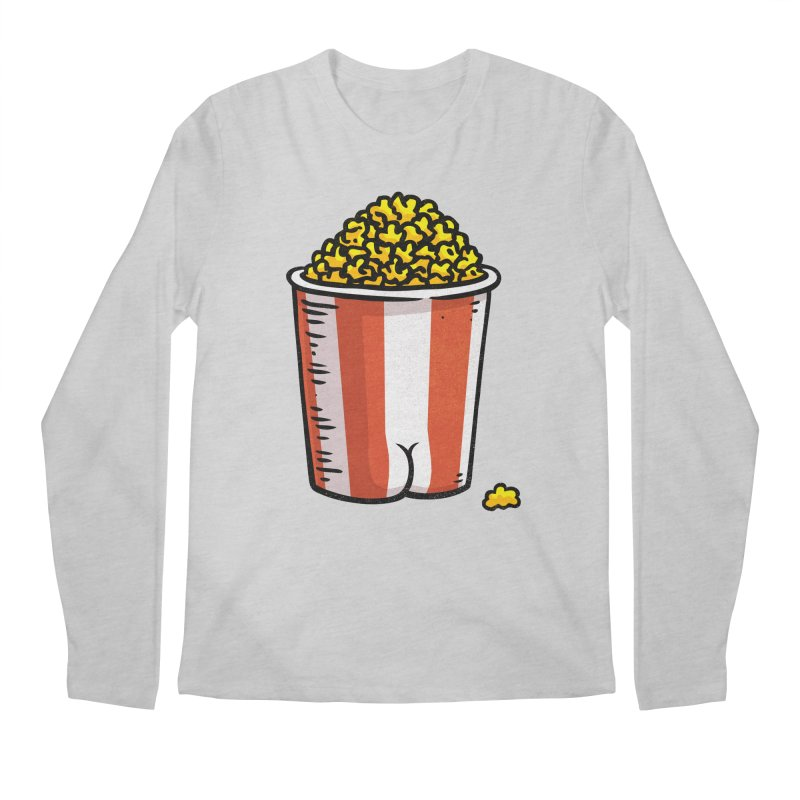 Popcorn BUTT Men's Longsleeve T-Shirt by Brian Cook