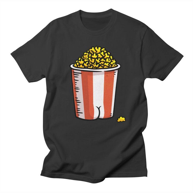 Popcorn BUTT Women's Unisex T-Shirt by Brian Cook