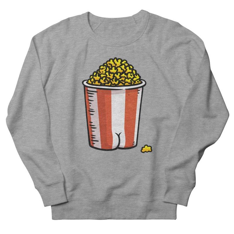 Popcorn BUTT Men's Sweatshirt by Brian Cook