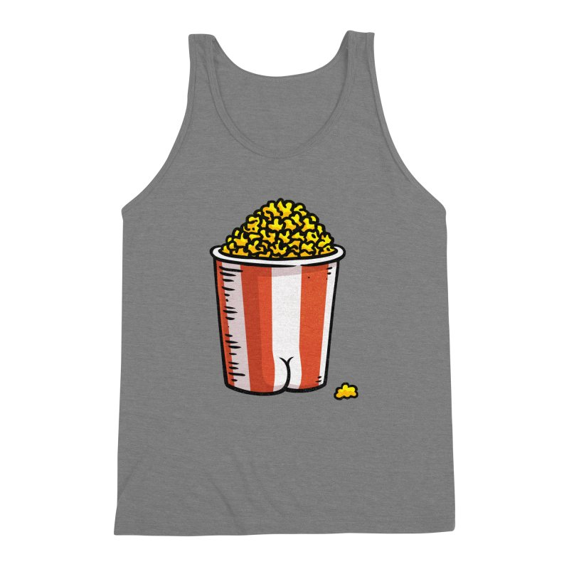 Popcorn BUTT Men's Triblend Tank by Brian Cook