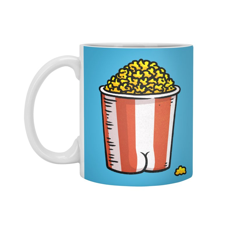 Popcorn BUTT Accessories Mug by Brian Cook