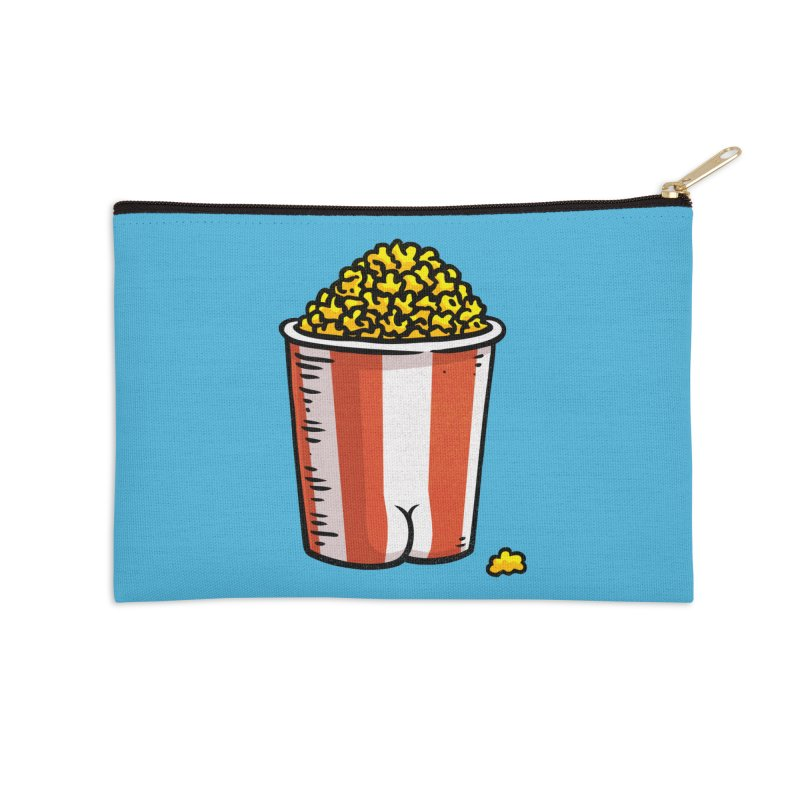 Popcorn BUTT Accessories Zip Pouch by Brian Cook