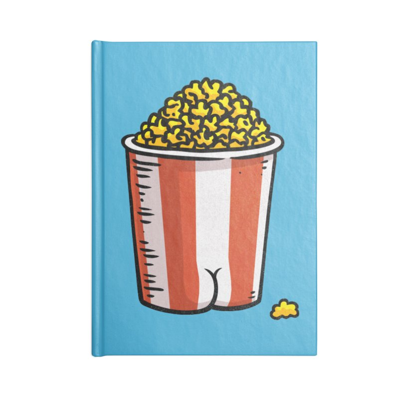 Popcorn BUTT Accessories Notebook by Brian Cook