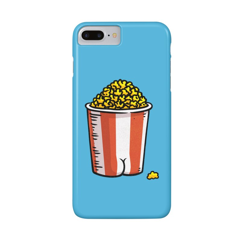 Popcorn BUTT Accessories Phone Case by Brian Cook