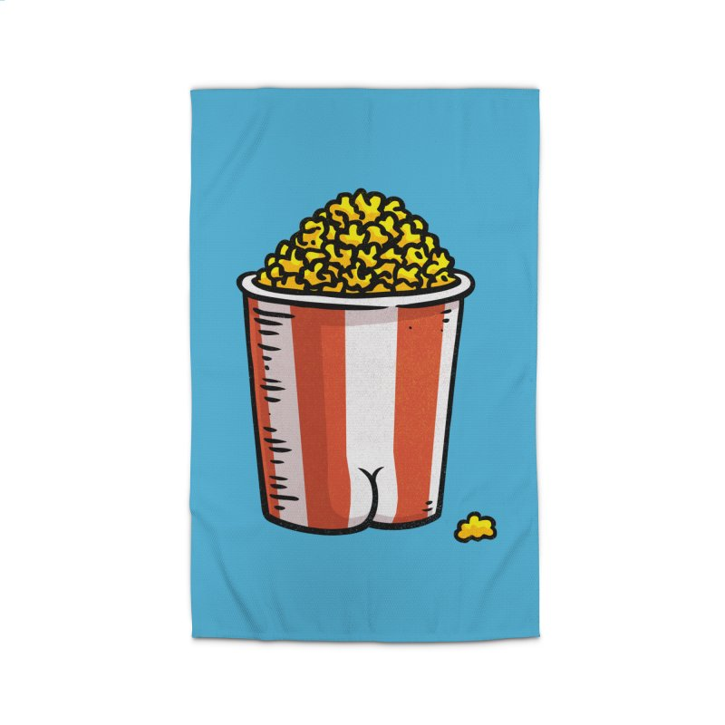 Popcorn BUTT Home Rug by Brian Cook