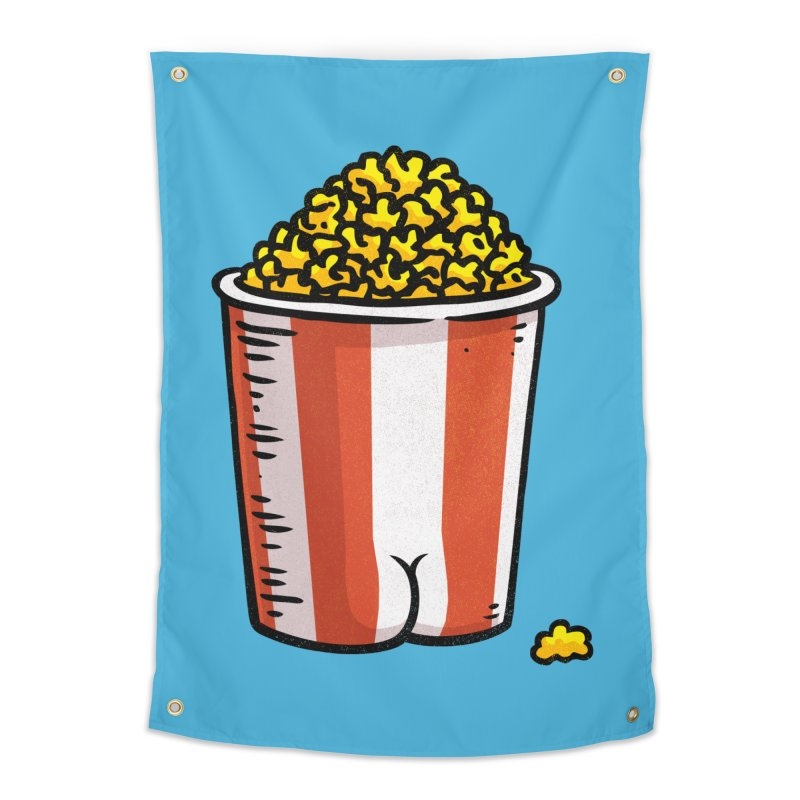 Popcorn BUTT Home Tapestry by Brian Cook
