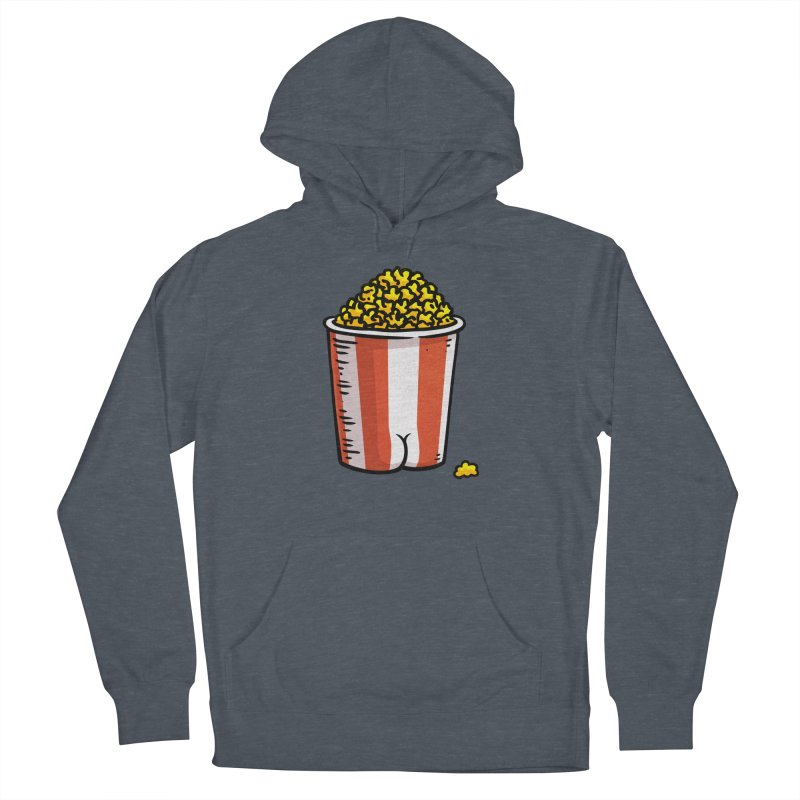 Popcorn BUTT Women's Pullover Hoody by Brian Cook