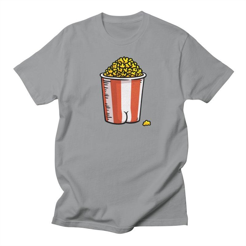 Popcorn BUTT Men's T-Shirt by Brian Cook