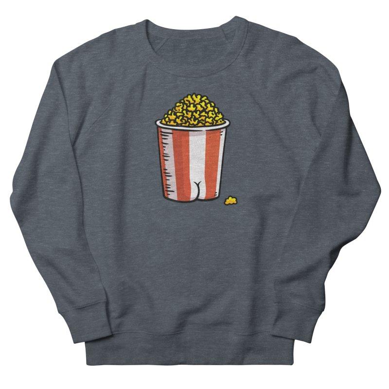 Popcorn BUTT Women's Sweatshirt by Brian Cook