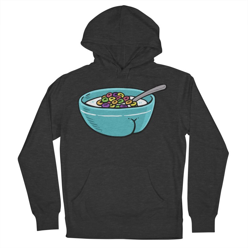 Cereal BUTT Men's Pullover Hoody by Brian Cook