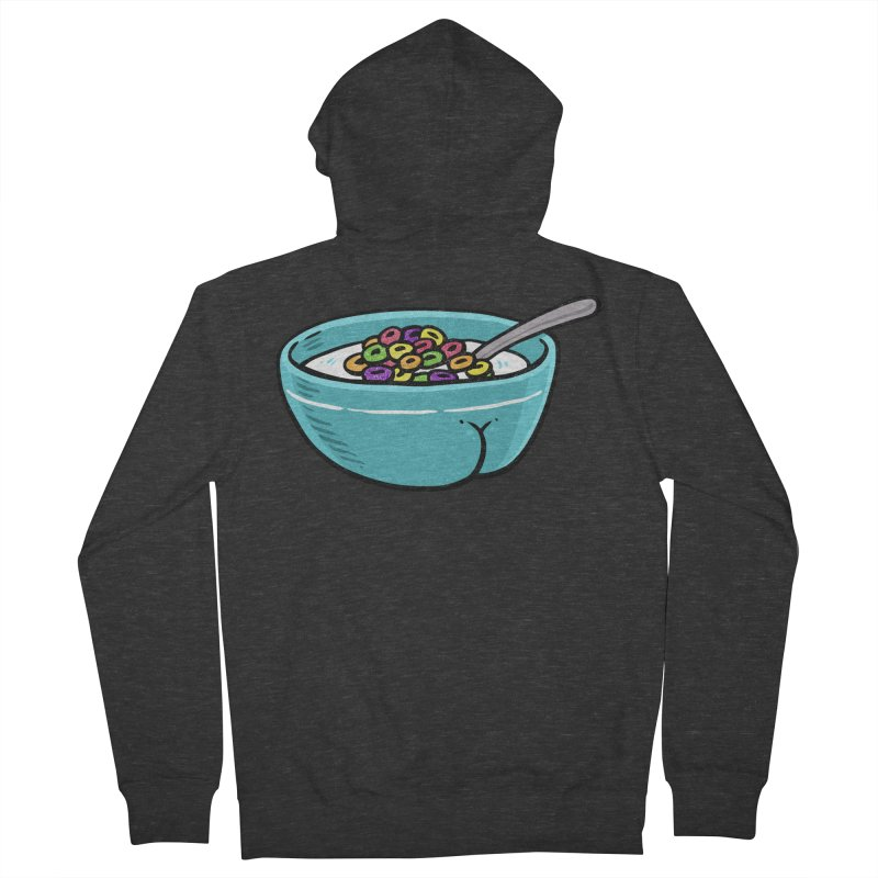Cereal BUTT Women's Zip-Up Hoody by Brian Cook